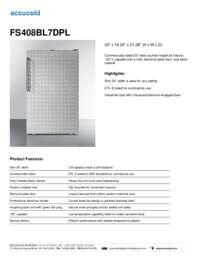 Brochure FS408BL7DPL