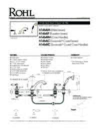 A1464 Spec Sheet