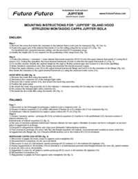 Jupiter Island Range Hood