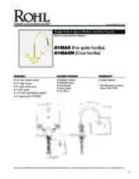 A14662 Spec Sheet