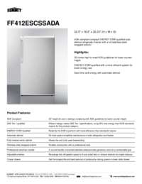 Brochure FF412ESCSSADA