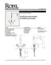 A14702 Spec Sheet