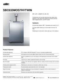 Brochure SBC635MOS7HVTWIN