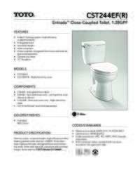 CST244EF Spec Sheet
