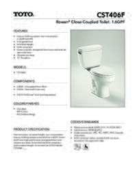 CST406F Spec Sheet