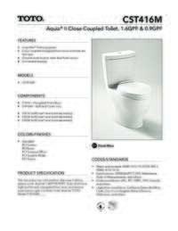 CST416M Spec Sheet