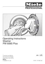 PW6065operatinginstructions