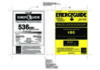 LNXC23766 Energy Guide Label