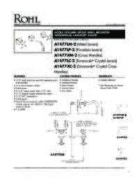 A14772 Spec Sheet