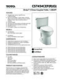 CST454CEF(R)(G) Spec Sheet