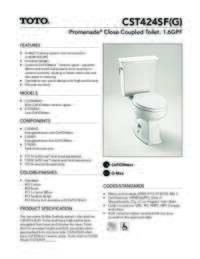 CST424SF(G) Spec Sheet