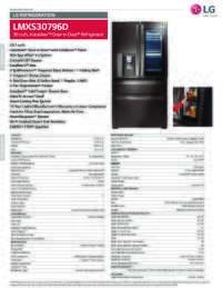 LMXS30796D Spec Sheet