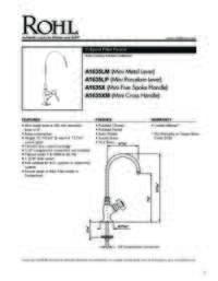 A16352 Spec Sheet