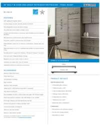 Panel Ready Flush Inset Installation Reference Sheet