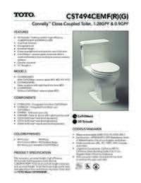 CST494CEMF(R)(G) Spec Sheet