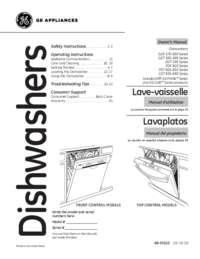 GE Owner's Manual