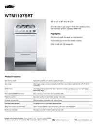 Brochure WTM1107SRT