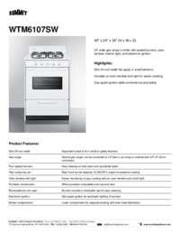 Brochure WTM6107SW