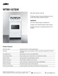 Brochure WTM1107SW
