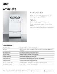 Brochure WTM1107S