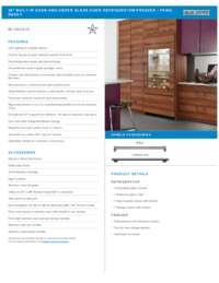 Panel Ready Standard Installation Specifications Sheet