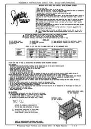 Bunk Bed Assembly Guide