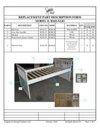 Twin Bed Frame Parts