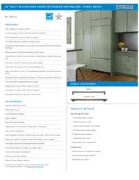 Standard Installation Specifications Sheet