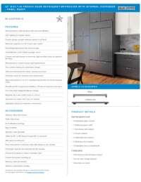 Panel Ready Standard Installation Spec Sheet