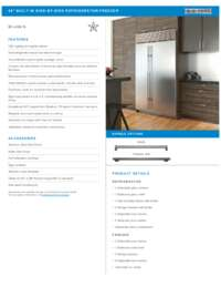 Stainless Steel Specifications Sheet