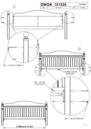Daybed Frame Assembly