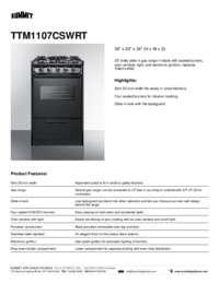 Brochure TTM1107CSWRT