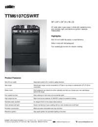 Brochure TTM6107CSWRT