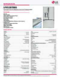 LFXS30786 Spec Sheet