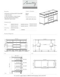 60 in. Vanity Specification Sheet