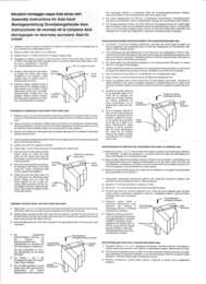 Lido Island Range Hood Installation Manual