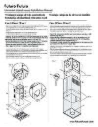 Universal Island Mount Installation Manual