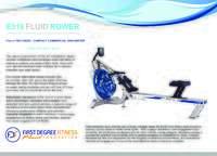 E316 Product Brochure