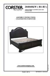 California King Bed Assembly