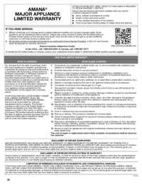 ASI2575FR Warranty EN