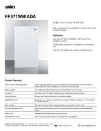 Brochure FF471WBIADA