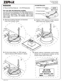 CFM Reducer Manual