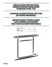 WDT750SAHZ Installation Instruction EN