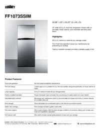 Brochure FF1073SSIM