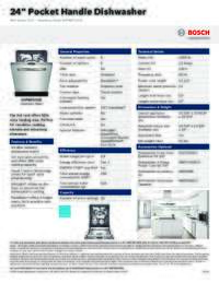 bosch 800 series dishwasher manual