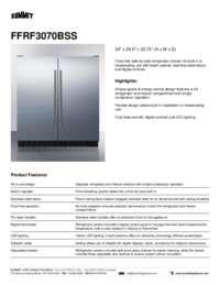 Brochure FFRF3070BSS