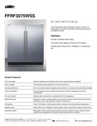 Brochure FFRF3075WSS