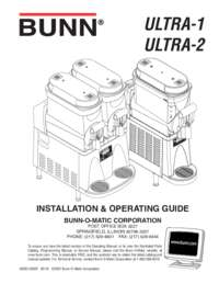 INSTALLATION & OPERATING GUIDE