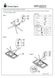 PRIMROSE DT Assembly Instruction