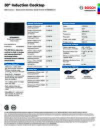 NIT8068SUC Specifications Sheet